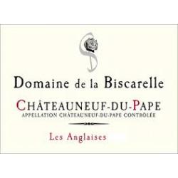 """Châteauneuf Du Pape 2015 """"Les Anglaises"""" Pur Grenache Domaine De La Biscarelle"""