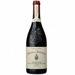 Châteauneuf Du Pape Beaucastel 2015 rouge Famille Perrin