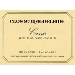 Clos Sainte Magdeleine Cassis blanc 2018 Jonathan SACK-ZAFIROPULO