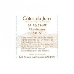 "Jean-François GANEVAT, Chardonnay ""LA PÈLERINE"" 2015"