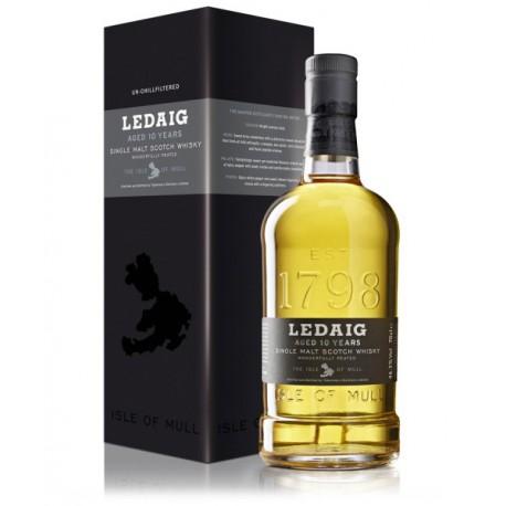 LEDAIG 10 ANS - EN ETUI 0,7 L 46,3 % vol
